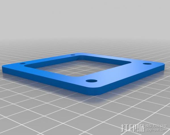 自制的3D打印机 3D模型  图17