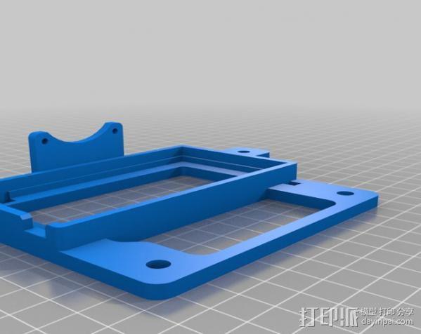 自制的3D打印机 3D模型  图16