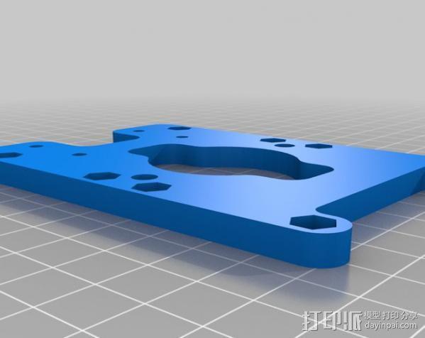 自制的3D打印机 3D模型  图18