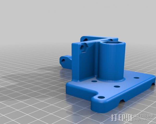 自制的3D打印机 3D模型  图20