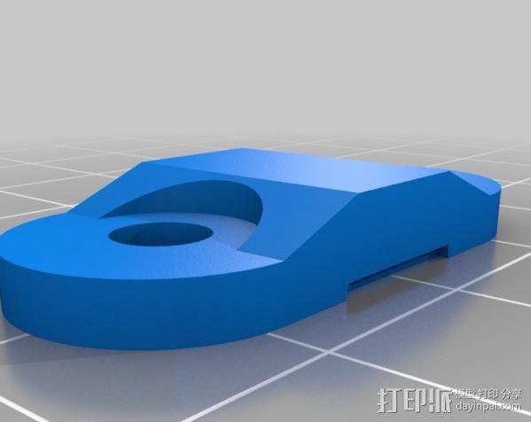 自制的3D打印机 3D模型  图19