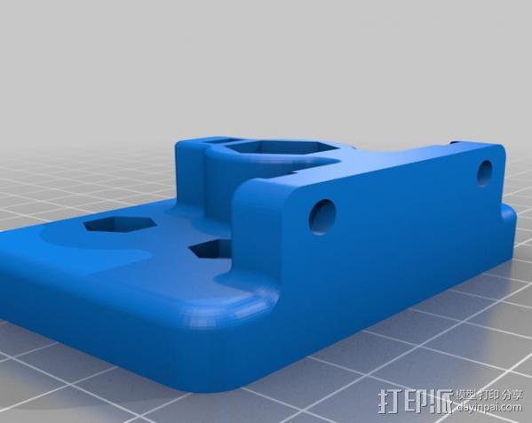 自制的3D打印机 3D模型  图23