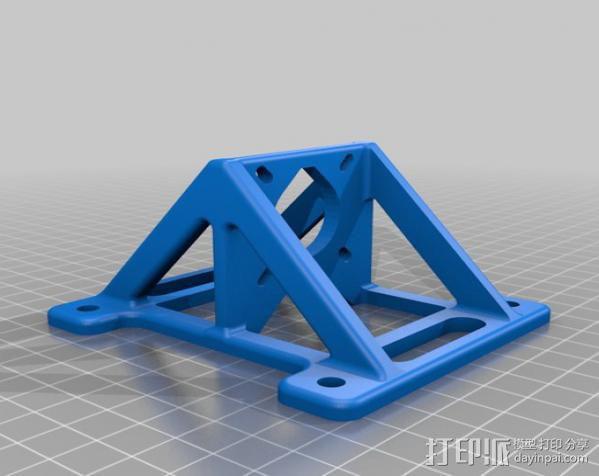 自制的3D打印机 3D模型  图27