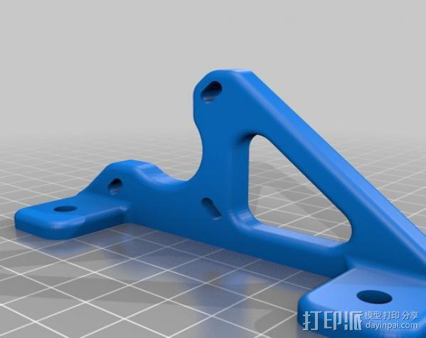 自制的3D打印机 3D模型  图26