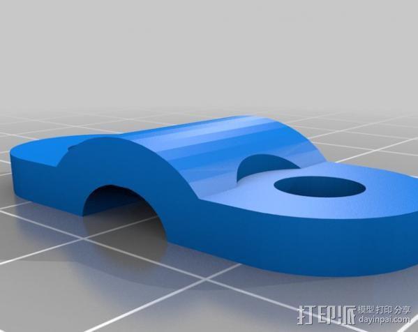 自制的3D打印机 3D模型  图29