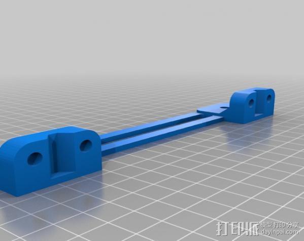 自制的3D打印机 3D模型  图28
