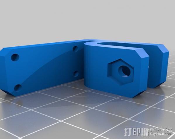 自制的3D打印机 3D模型  图30