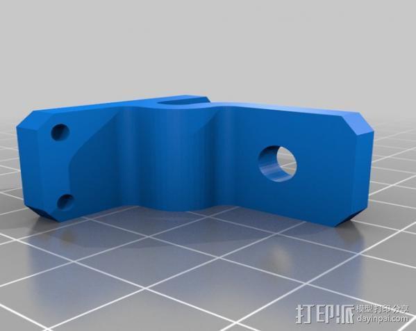 自制的3D打印机 3D模型  图31