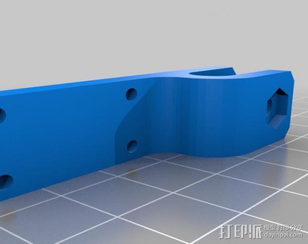 自制的3D打印机 3D模型  图32