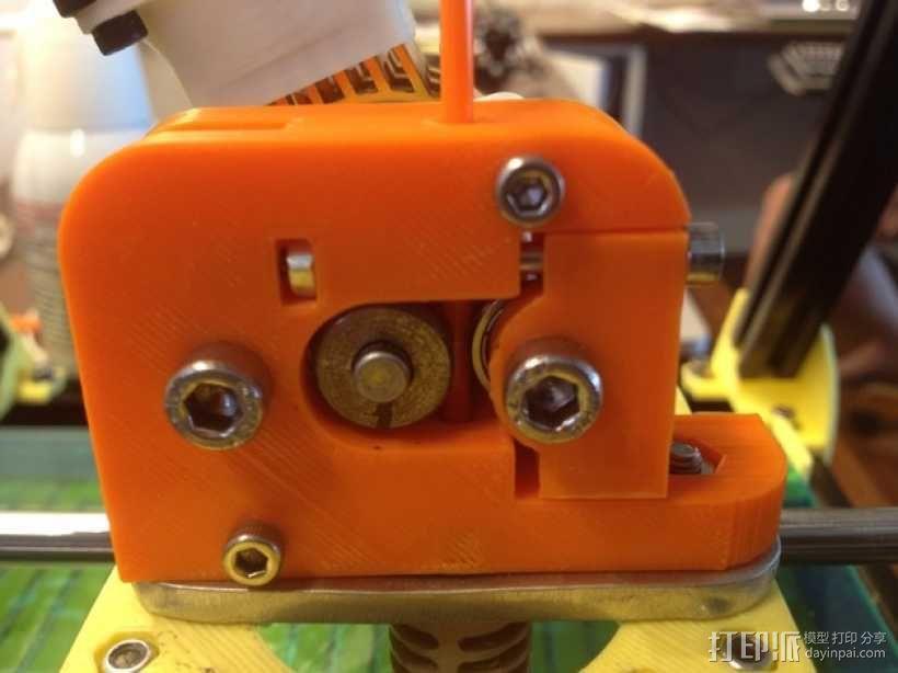 微型挤出机 3D模型  图1