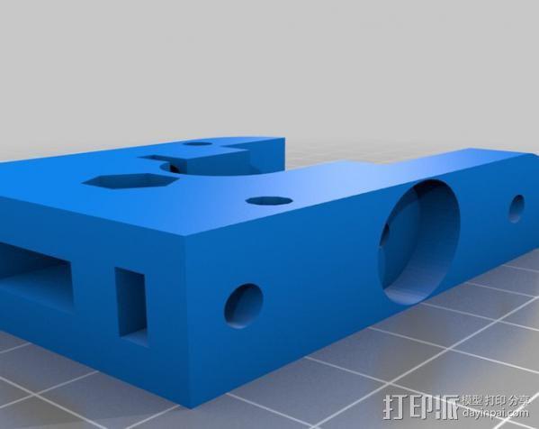 微型挤出机 3D模型  图3