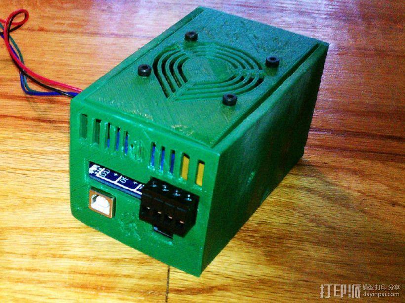 电路板保护罩 3D模型  图1