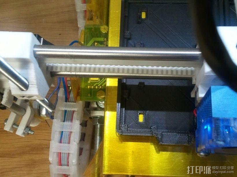 电缆锚链 3D模型  图2