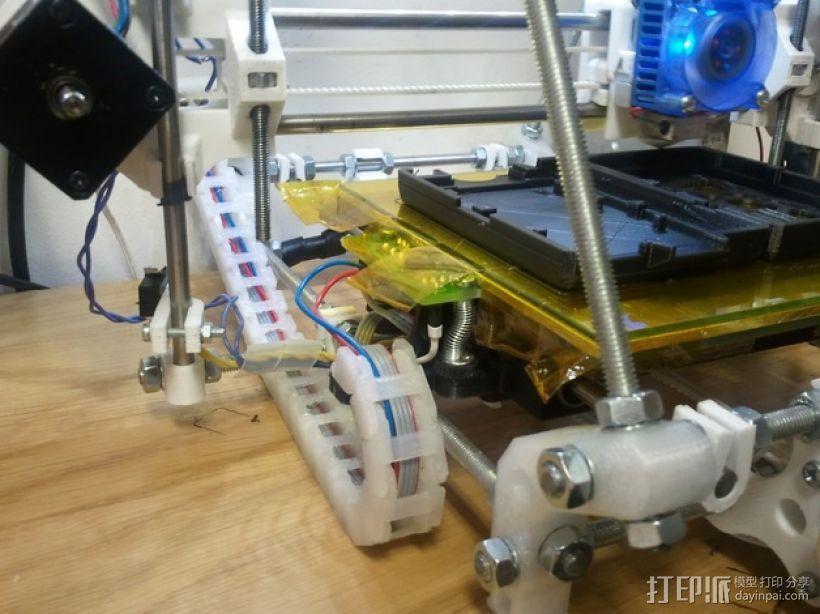 电缆锚链 3D模型  图1