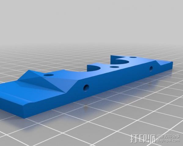 双挤出机支架 3D模型  图7