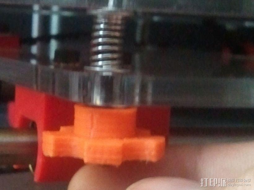 拇指旋钮 3D模型  图4
