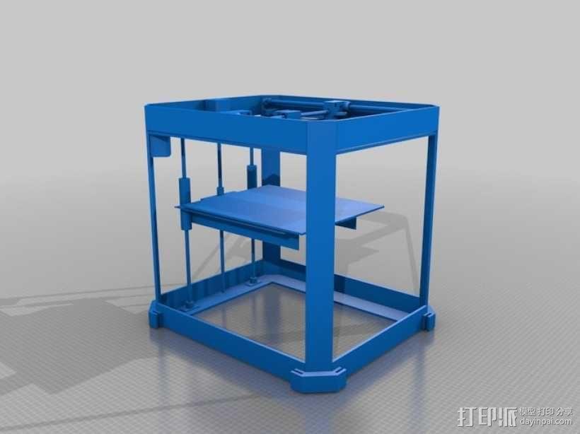 自制3D打印机 3D模型  图2