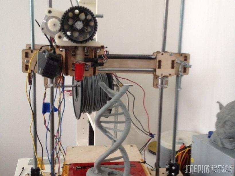 Printrbot打印机Z轴 3D模型  图1