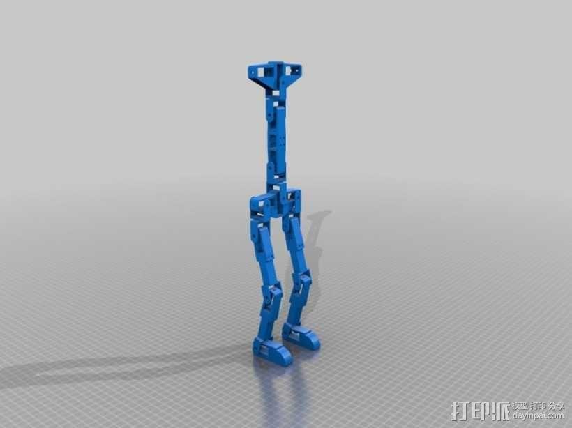 锚链机器人 3D模型  图1