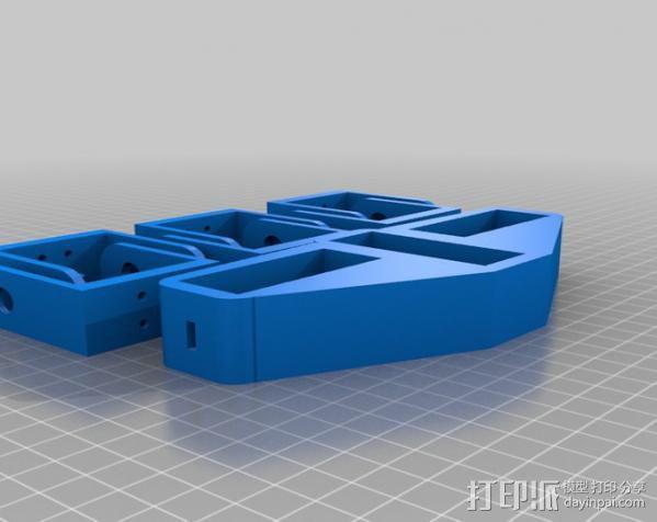 锚链机器人 3D模型  图2