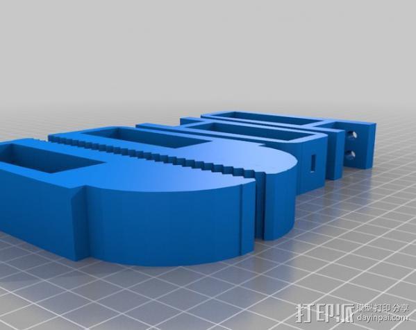 锚链机器人 3D模型  图3