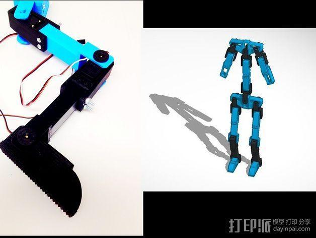 锚链机器人 3D模型  图5