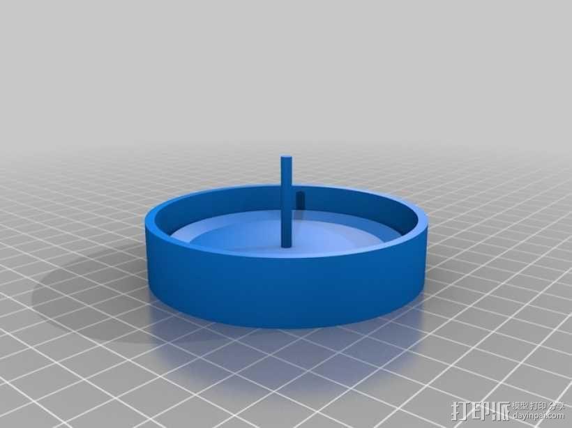 遥控赛车车轮 3D模型  图5