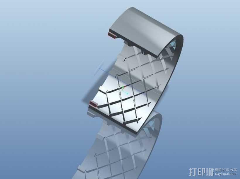 遥控赛车车轮 3D模型  图6