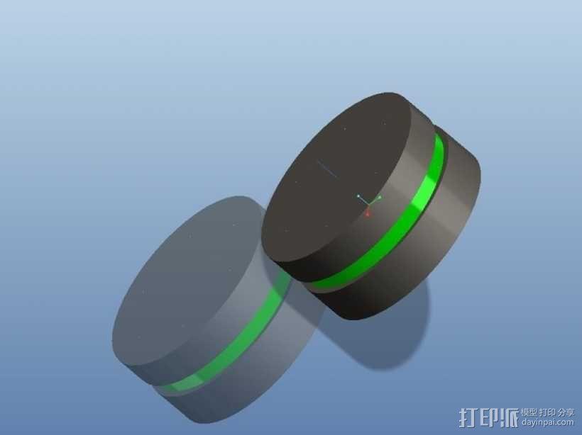 遥控赛车车轮 3D模型  图9