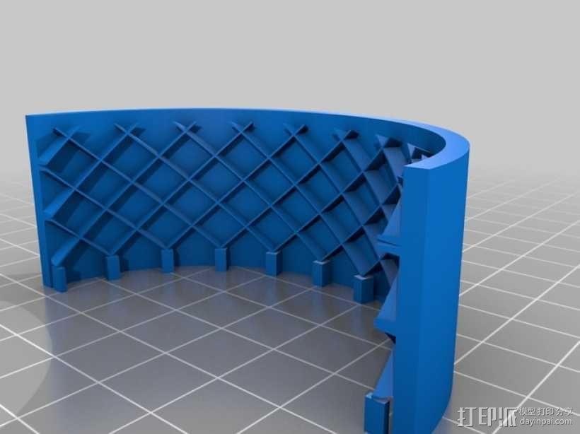 遥控赛车车轮 3D模型  图7