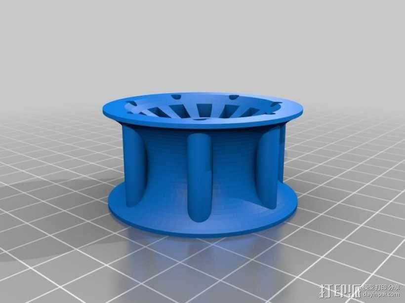 遥控赛车车轮 3D模型  图14