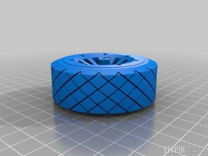 遥控赛车车轮 3D模型  图16