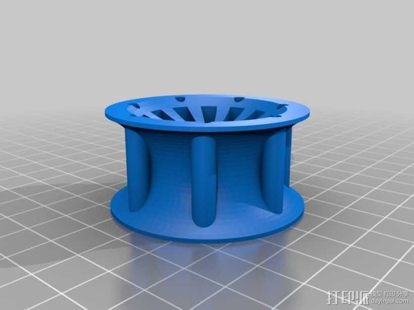 遥控赛车车轮 3D模型  图18
