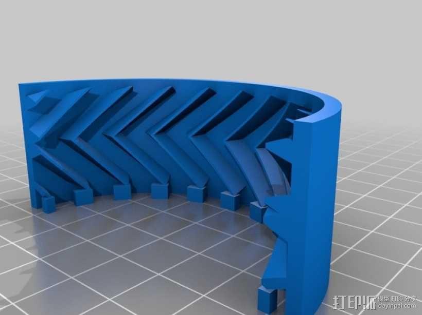 遥控赛车车轮 3D模型  图23
