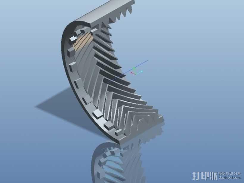 遥控赛车车轮 3D模型  图27