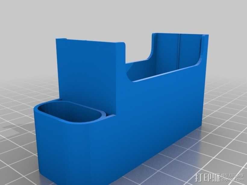 香烟盒 打火机架 3D模型  图1