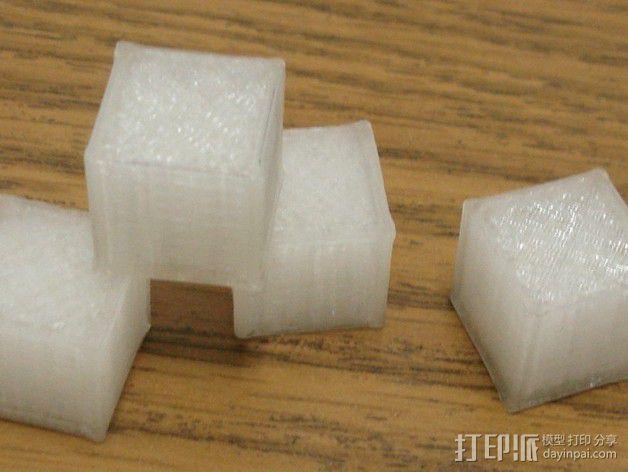 15毫米的方块 3D模型  图2