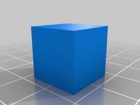 15毫米的方块 3D模型