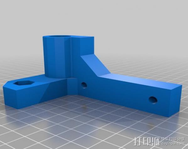 K1-Rap 3D打印机 3D模型  图2