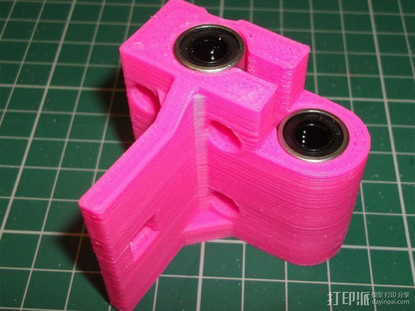Printrbot 打印机的X轴部件 3D模型  图2