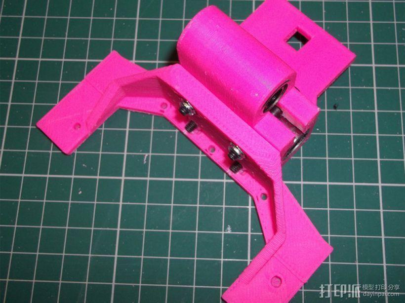 Printrbot 打印机的X轴部件 3D模型  图5