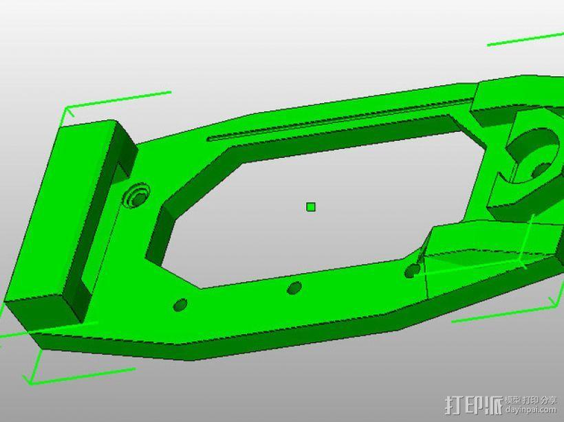 Printrbot 打印机的X轴部件 3D模型  图6