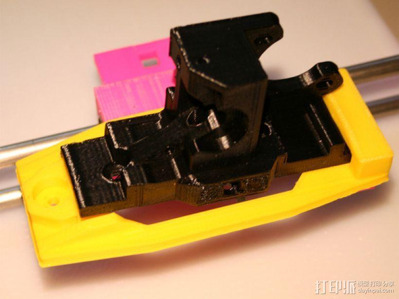 Printrbot 打印机的X轴部件 3D模型  图8