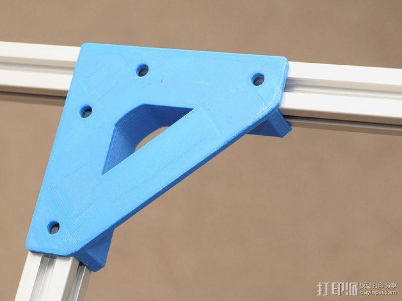 直角固定器· 3D模型  图1