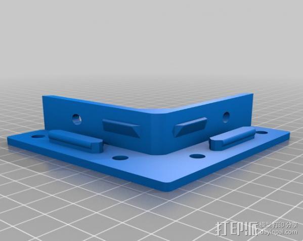 直角固定器· 3D模型  图4