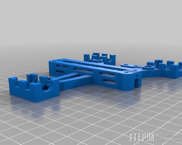 Prusa i2打印机Y轴轴承套管 3D模型  图2