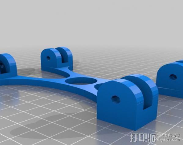 线轴支架 3D模型  图7