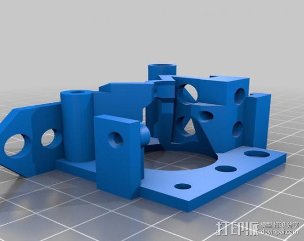 鲍登挤出机 3D模型  图8