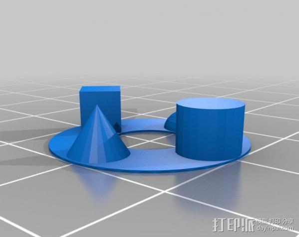 打印测试 3D模型  图2