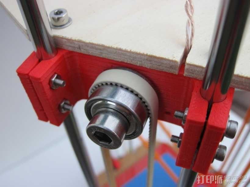 惰轮支架 3D模型  图2